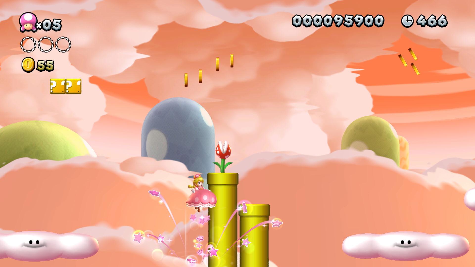 New Super Mario Bros. U Deluxe Peachette