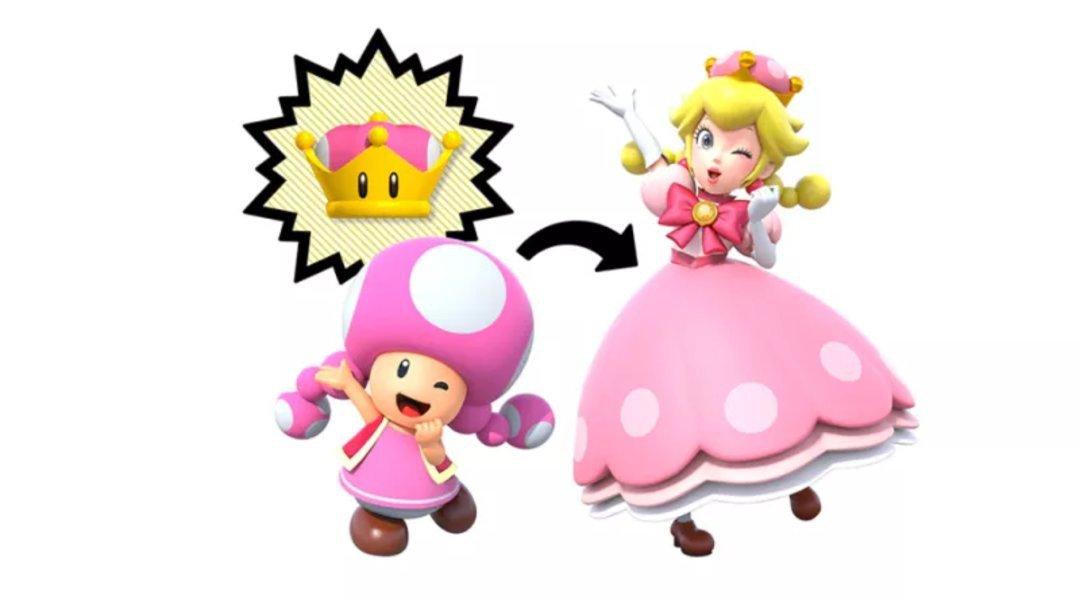 New Super Mario Bros. U Deluxe - Toadette diventa Peachette