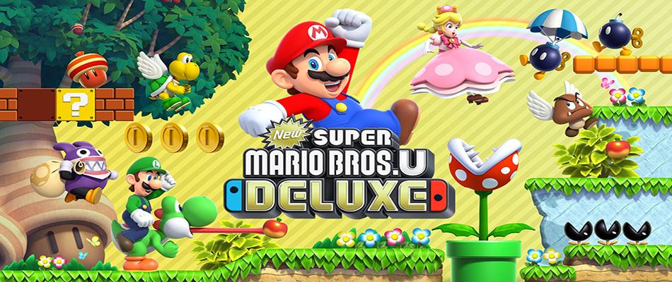 Ecco il peso di New Super Mario Bros. U Deluxe