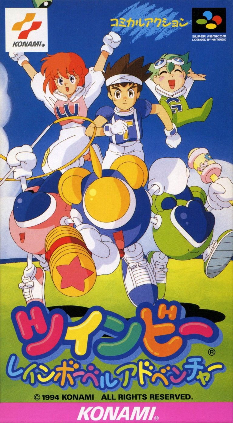 Retro Weekend: TwinBee: Rainbow Bell Adventure