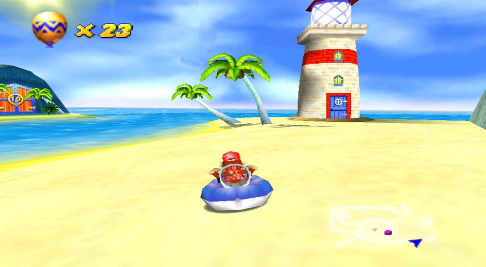 Diddy Kong Racing screenshot 2