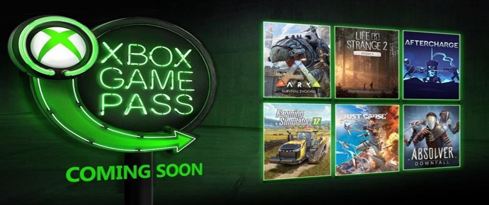 Xbox Game Pass: I giochi di gennaio 2019