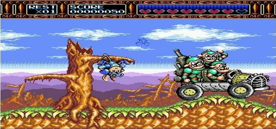 Rocket Knight Adventures - Screenshot 2