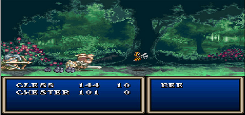 Tales of Phantasia battle