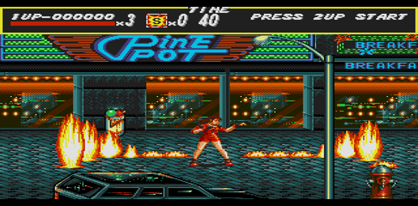 Bare Knuckle (Streets of Rage) screenshot