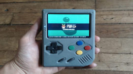 RetroStone: La console portatile homemade per il retrogaming