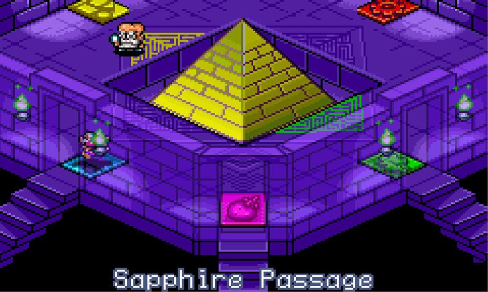 Wario Land 4 Piramide
