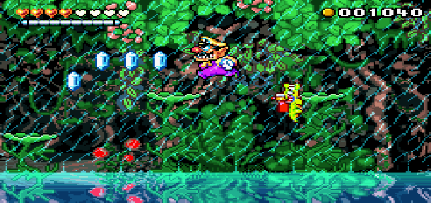 Wario Land 4 screenshot natura