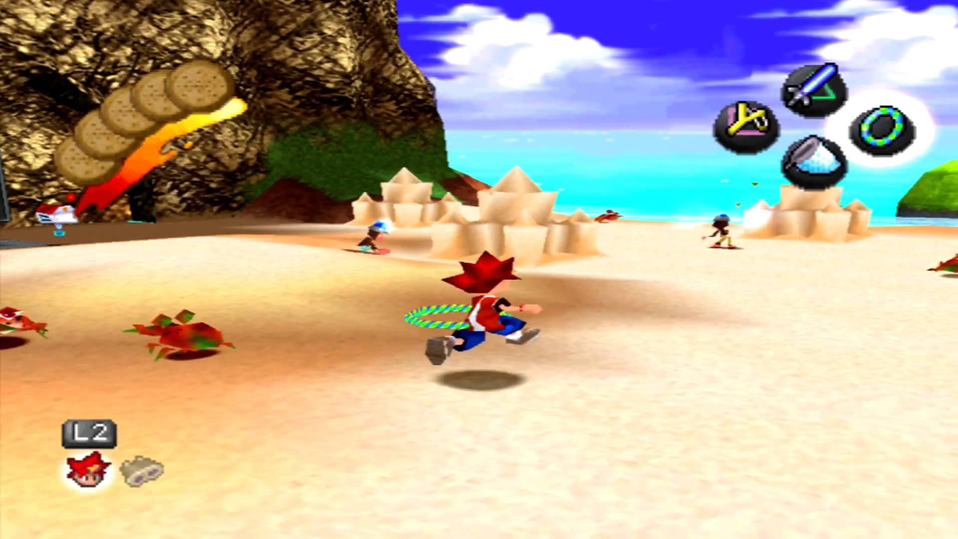 Ape Escape - Beach screenshot