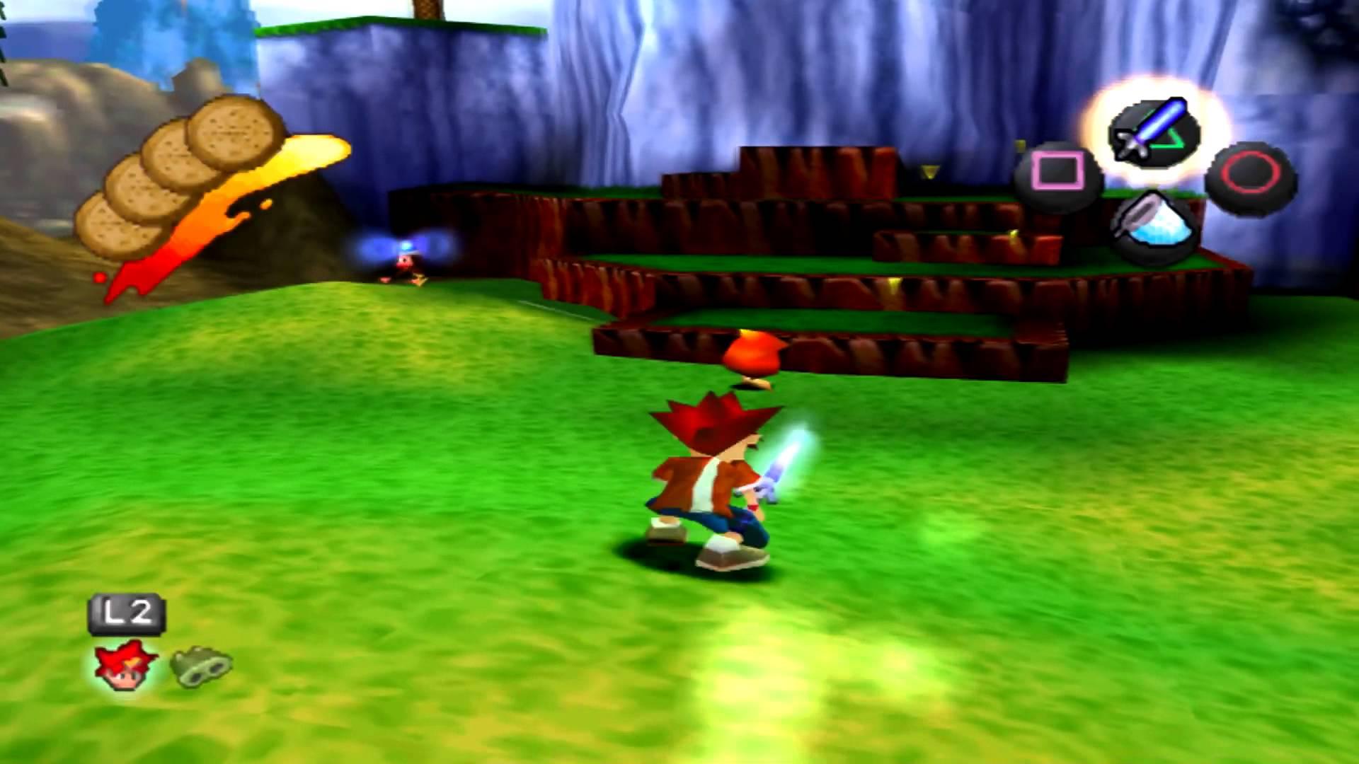 Ape Escape - First level screenshot