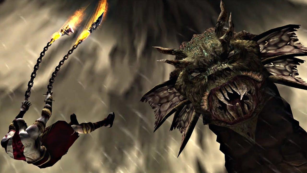 God of War - Kratos Vs Hydra