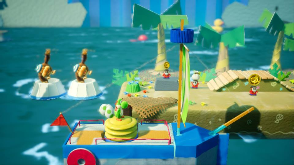 Yoshi's Crafted World - Screenshot