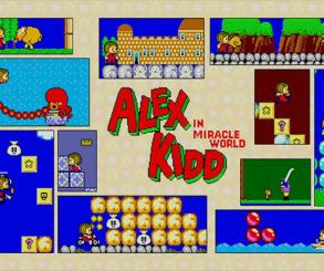 Retro Weekend: Alex Kidd in Miracle World