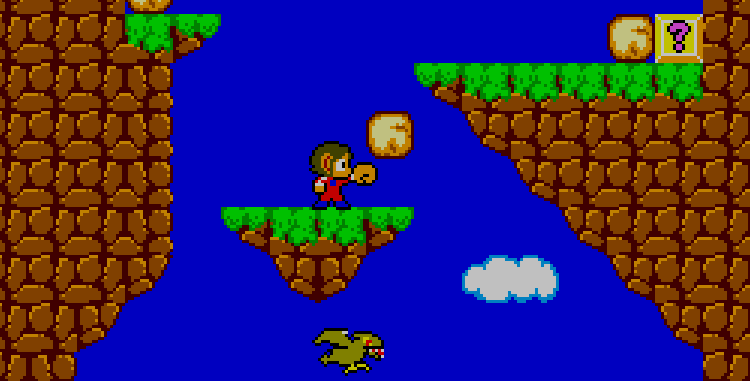 Alex Kidd in Miracle World screenshot