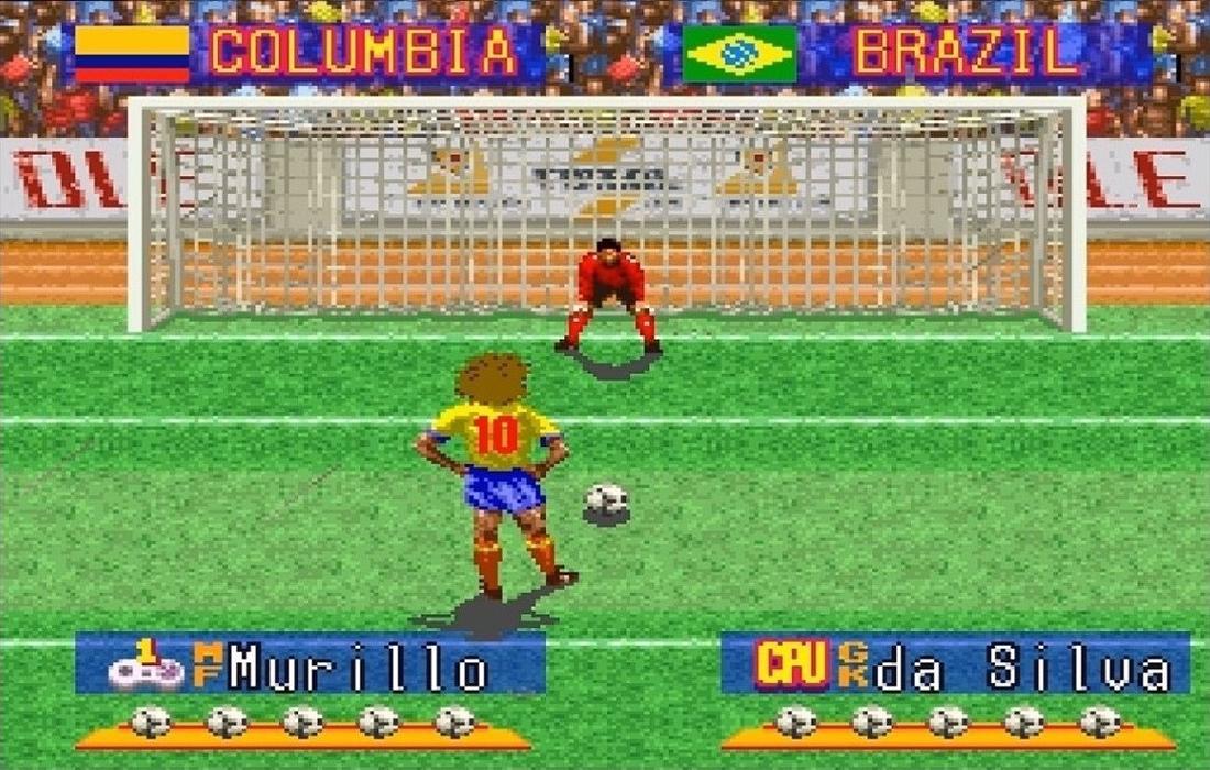 International Superstar Soccer Deluxe - Rigore