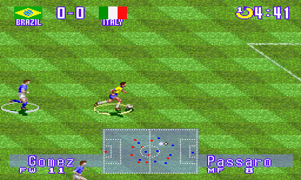 International Superstar Soccer Deluxe screenshot