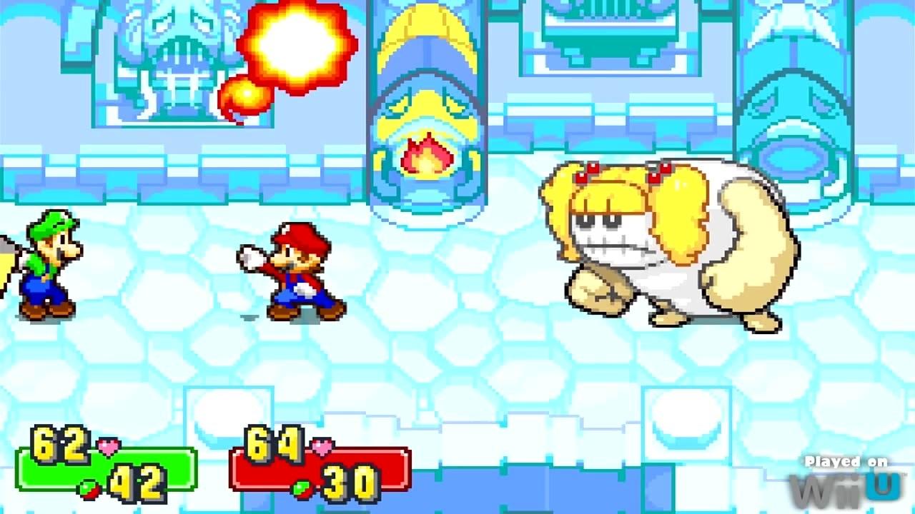 Mario & Luigi: Superstar Saga - Boss battle