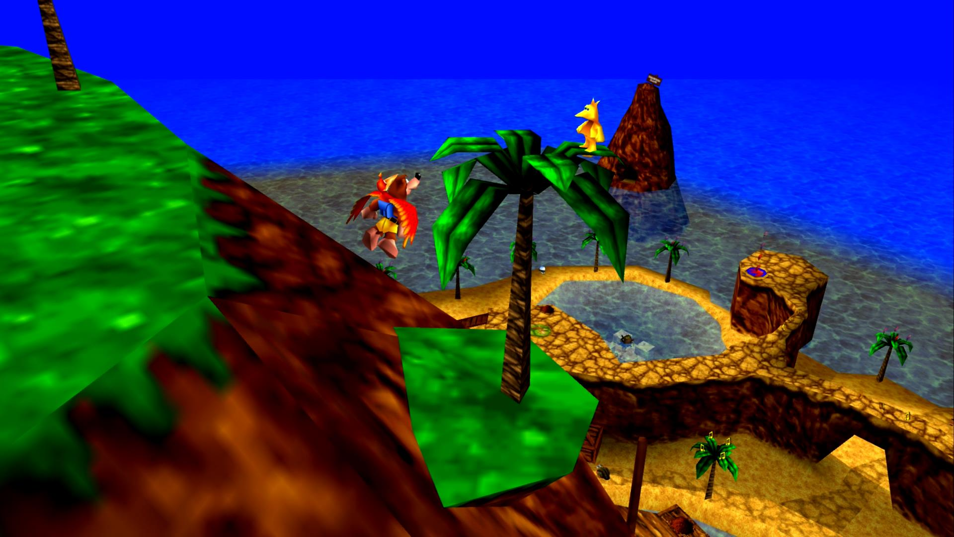 Banjo-Kazooie - Treasure Trove Cave