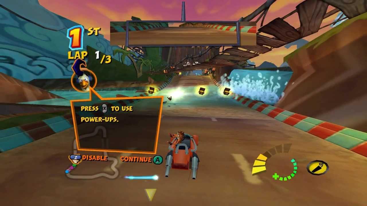 Crash Tag Team Racing screenshot racing