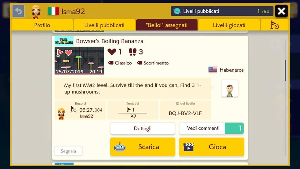 Super Mario Maker 2 - Bowser's Boiling Bananza