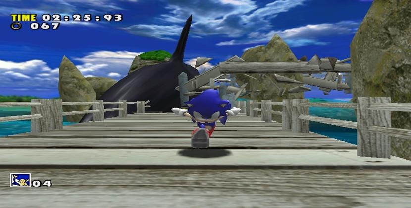 Sonic Adventure Stage 1