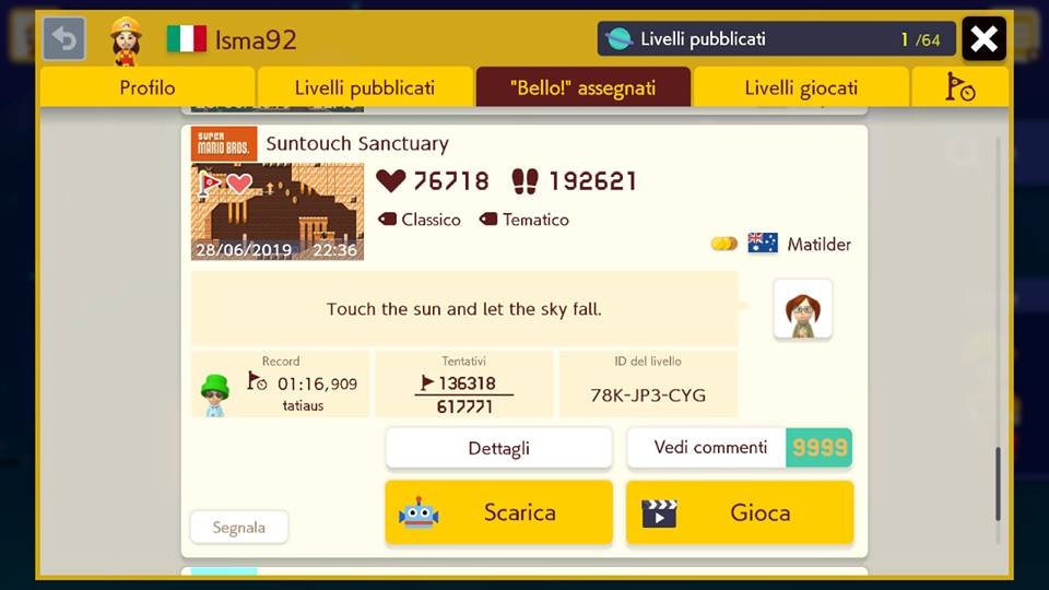 Super Mario Maker 2 - Suntouch Sanctuary