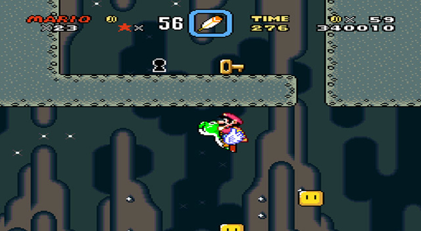 Super Mario World - Yoshi Fly