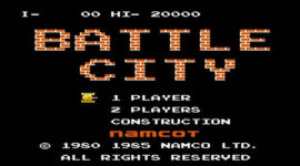 Retro Weekend: Battle City