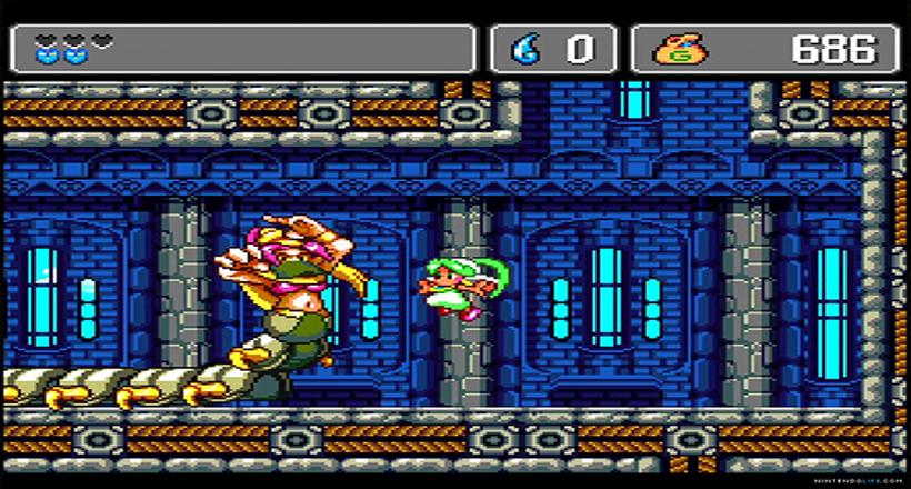 Monster World IV boss