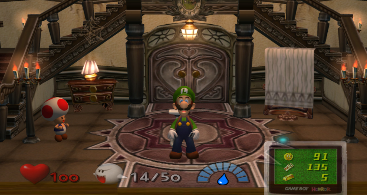 Luigi's Mansion - screenshot