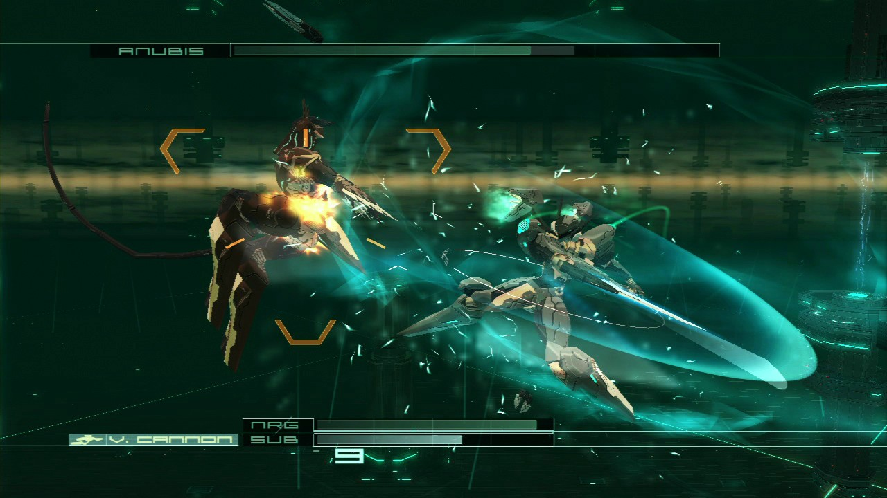 Zone of the Enders - Battle with Anubis