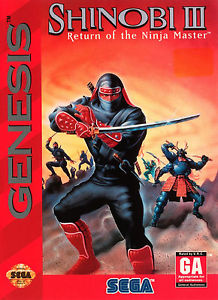 Retro Weekend – Shinobi III: Return of the Ninja Master
