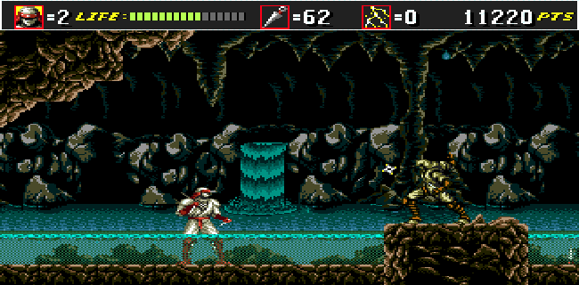 Shinobi III screenshot