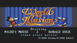 Retro Weekend: World of Illusion